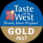 taste of the west gold award 2017