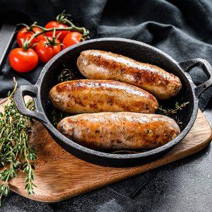 hog roast sausages