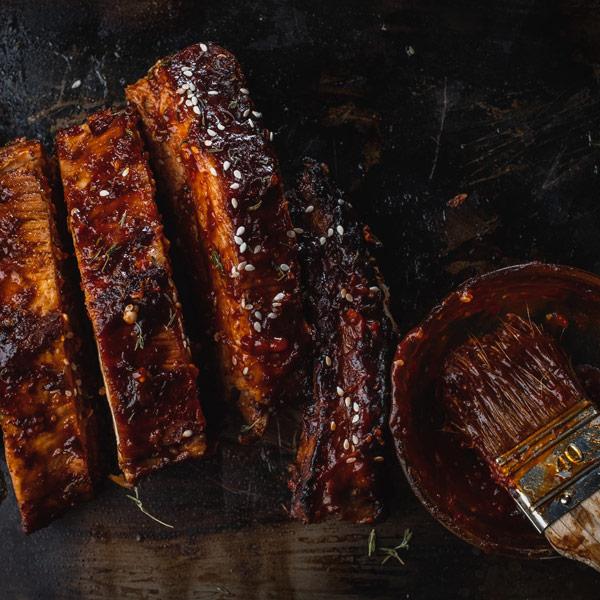 roast spare rib of pork