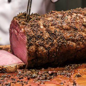 topside of roast beef